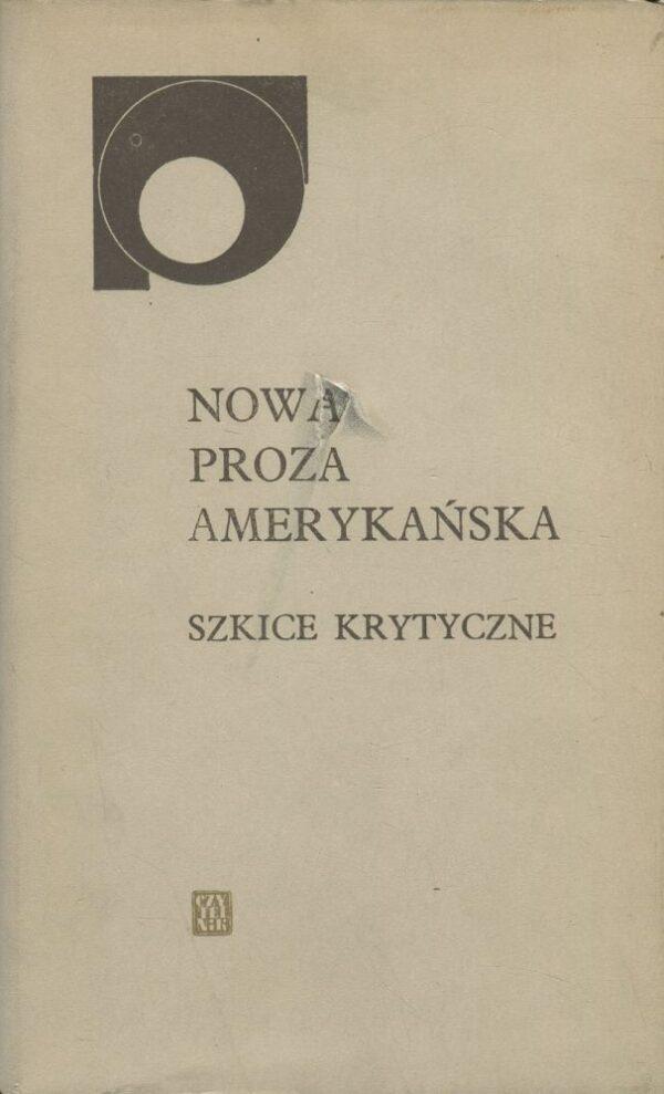 okładka książki NOWA PROZA AMERYKAŃSKA