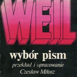 Wybór Pism Simone Weil
