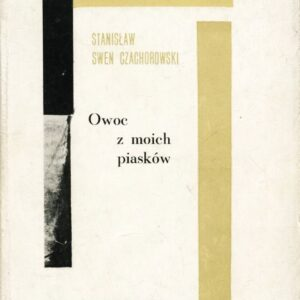 """Okładka książki """"Owoc moich piasków"""""""