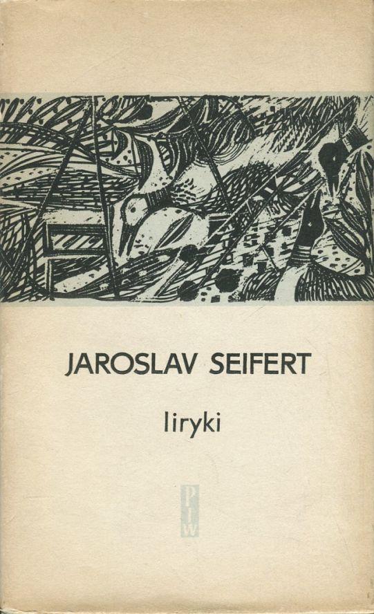 """Okładka książki """"Liryki"""" Seiferta"""