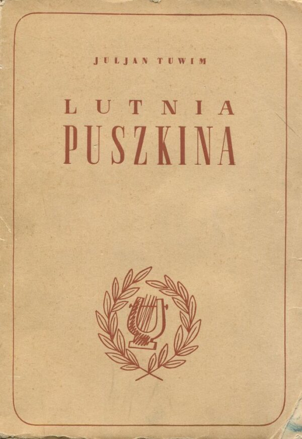 okładka książki LUTNIA PUSZKINA