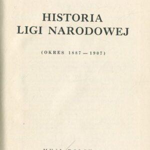 HISTORIA LIGI NARODOWEJ strona tytułowa