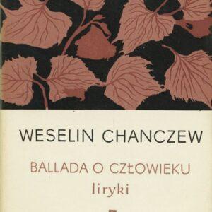 """okładka ksiązki """"Ballada o człowieku"""""""