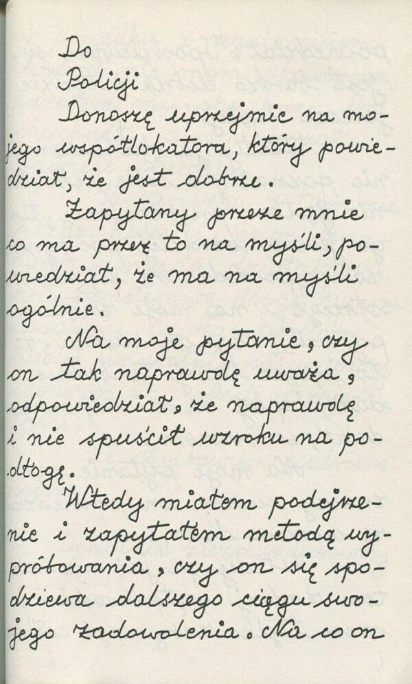 z książki DONOSY