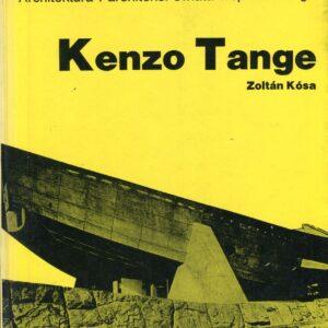Okładka książki KENZO TANGE