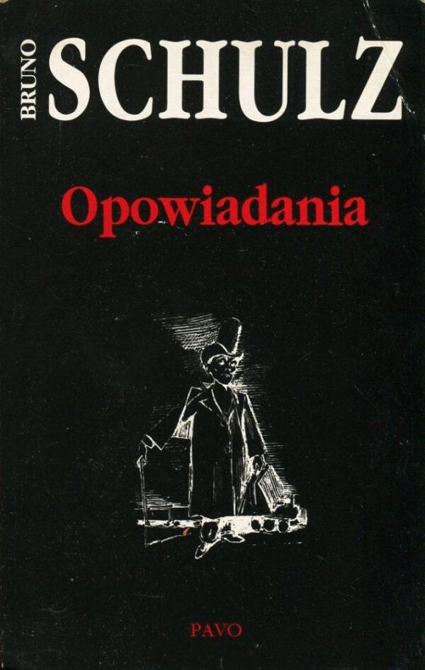 Okładka książki OPOWIADANIA Bruno Schulza